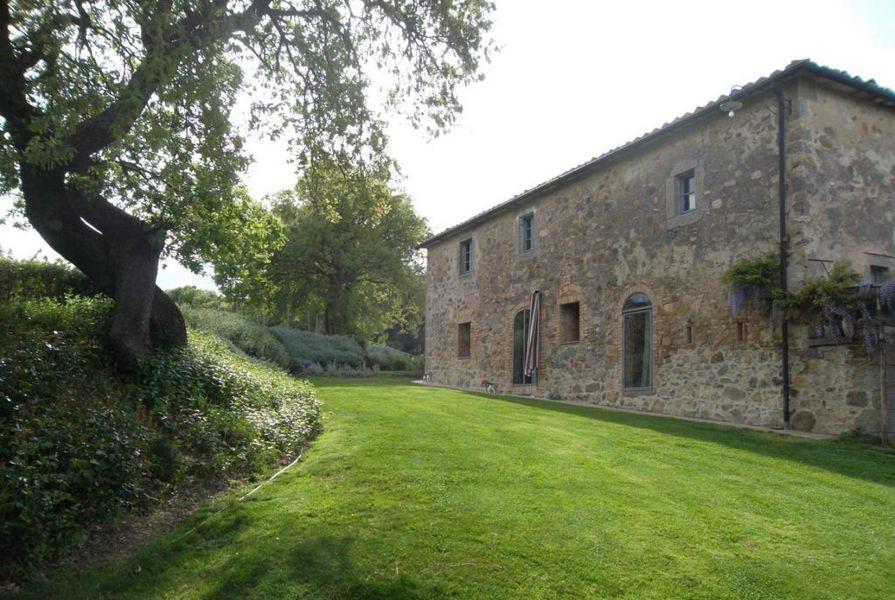 Entzückendes Bauernhaus mit 4 Wohnungen, Panoramapool und 5,5ha Land in der Val d'Orcia (4)