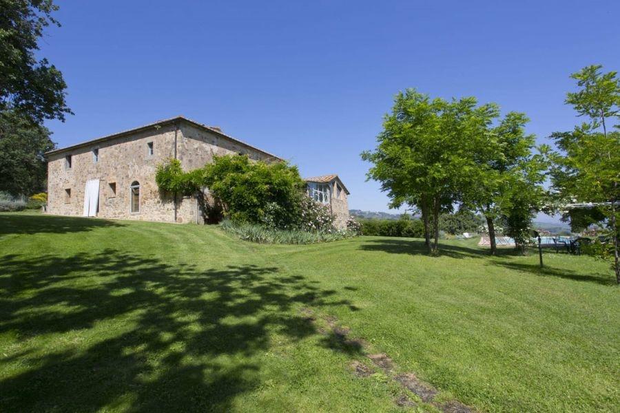 Entzückendes Bauernhaus mit 4 Wohnungen, Panoramapool und 5,5ha Land in der Val d'Orcia (5)