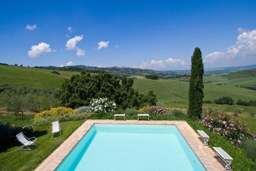 Entzückendes Bauernhaus mit 4 Wohnungen, Panoramapool und 5,5ha Land in der Val d'Orcia (6)