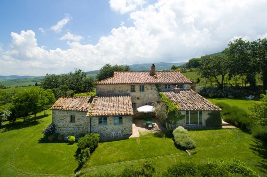 Entzückendes Bauernhaus mit 4 Wohnungen, Panoramapool und 5,5ha Land in der Val d'Orcia (7)