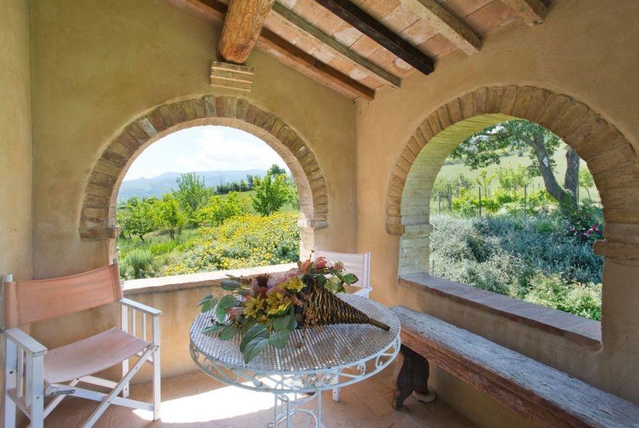 Entzückendes Bauernhaus mit 4 Wohnungen, Panoramapool und 5,5ha Land in der Val d'Orcia (8)