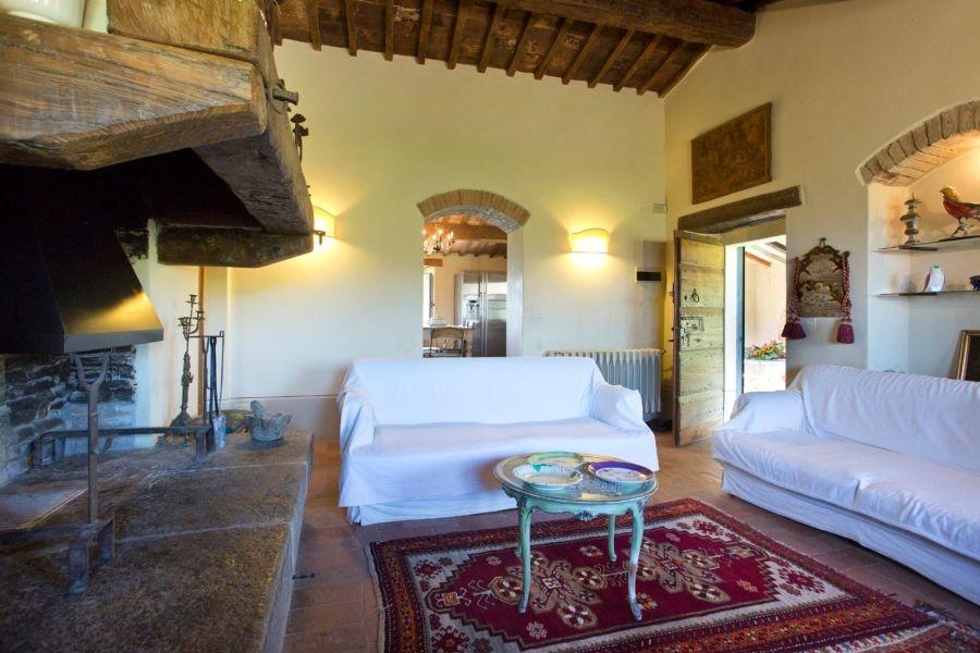 Entzückendes Bauernhaus mit 4 Wohnungen, Panoramapool und 5,5ha Land in der Val d'Orcia (11)