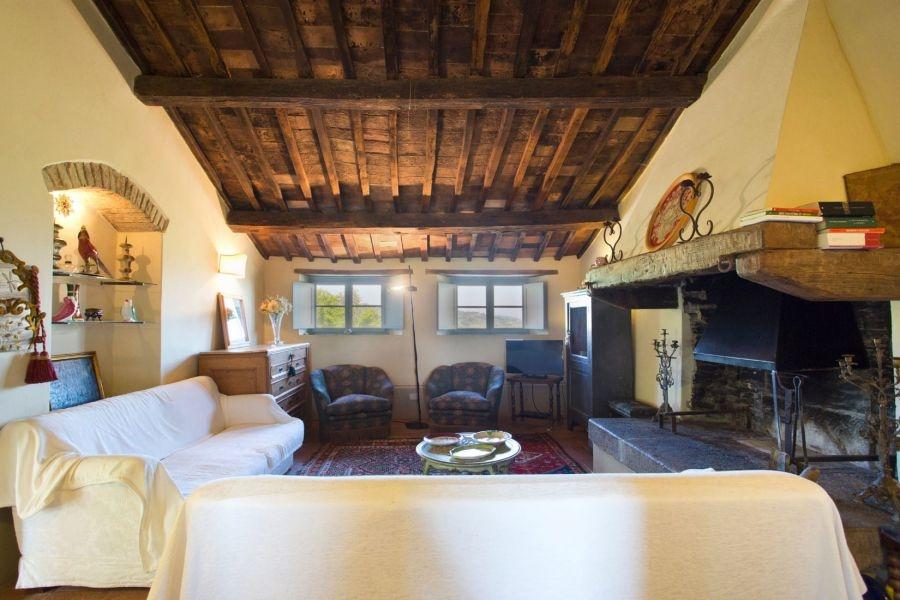 Entzückendes Bauernhaus mit 4 Wohnungen, Panoramapool und 5,5ha Land in der Val d'Orcia (12)