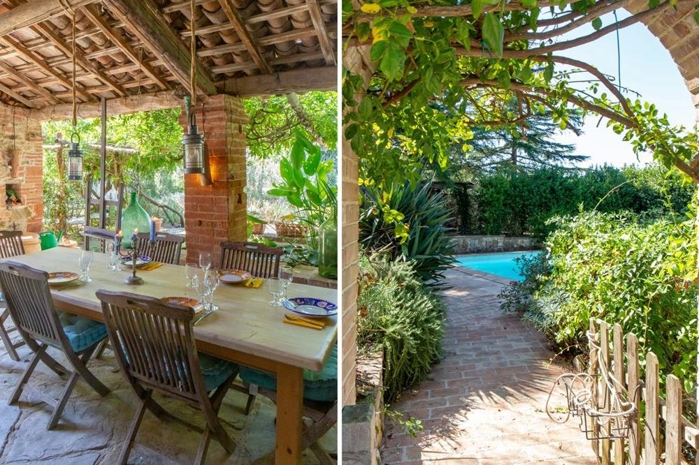 Wunderschönes helles Natursteinhaus mit Pool, Garten und Garage in Stadt- und Seenähe