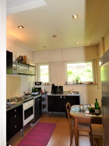 Küche mit Essecke...