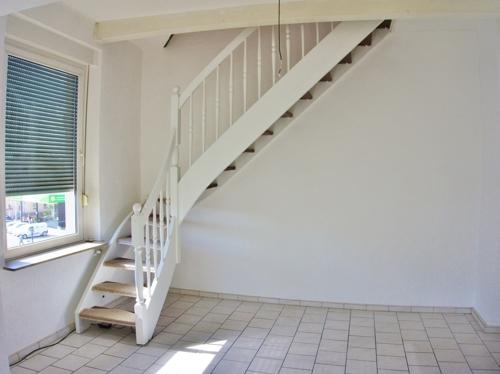 Treppenaufgang ins DG
