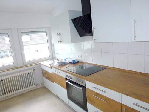 Moderne Einbauküche...