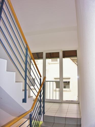 Treppenaufgang zu Ihrer Wohnung