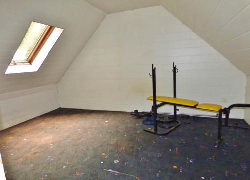 Platz für Hobbies im Dach