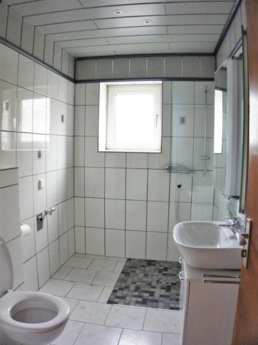 Modernes Bad im EG