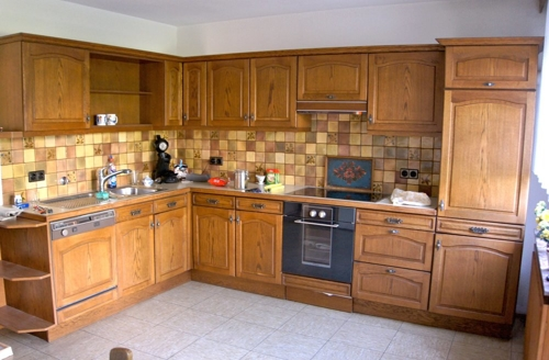 Geräumige Küche ...