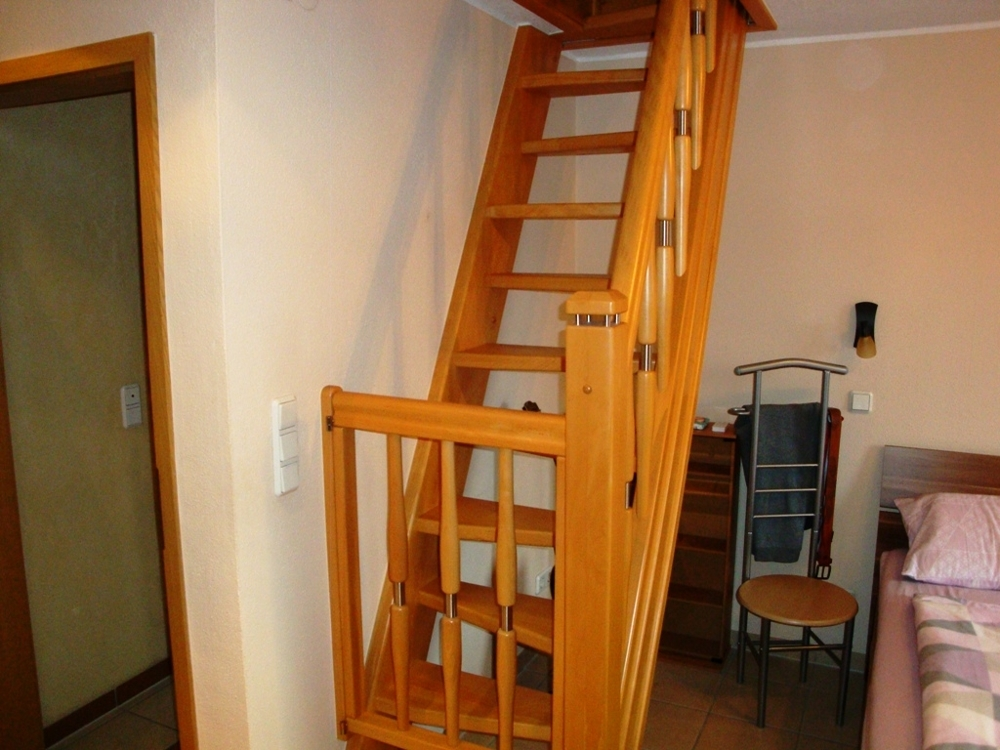 Haus 1 - Oben Treppenkonstruktion