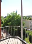 Werdauer 25, WE 6, Ausblick Balkon