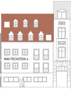 2020-01-12 Max-Pechstein-Strasse 4, Strassenansicht