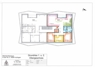 Wohnungsgrundriss Whg. 3+5