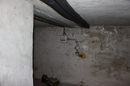 Gasanschluss im Keller