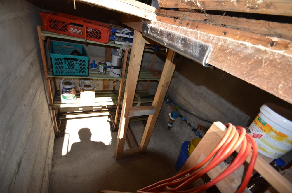 Kellerbereich im Nebengebäude