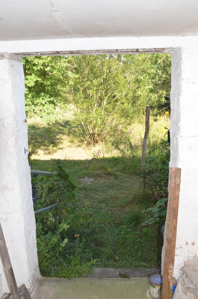 Ansicht vom Hof in den Garten