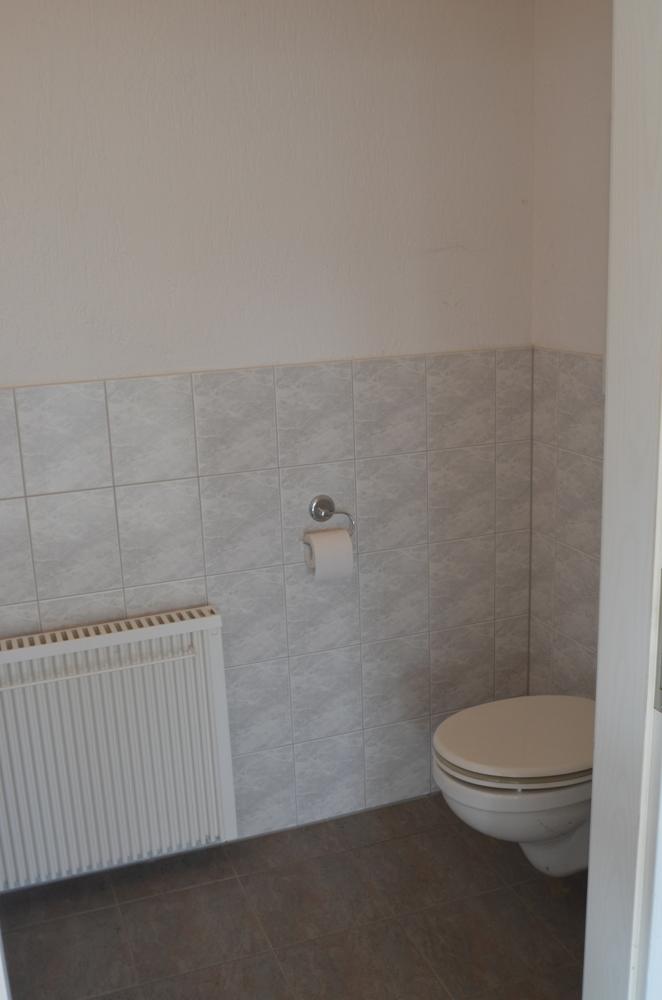 Teilansicht WC