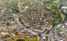 Luftansicht Ansbach