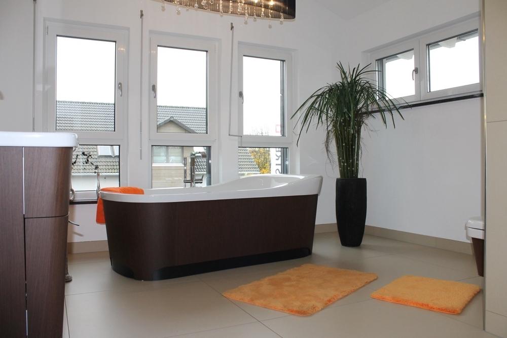 Badzimmer mit Wanne Muster