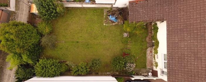 Luftbild Garten