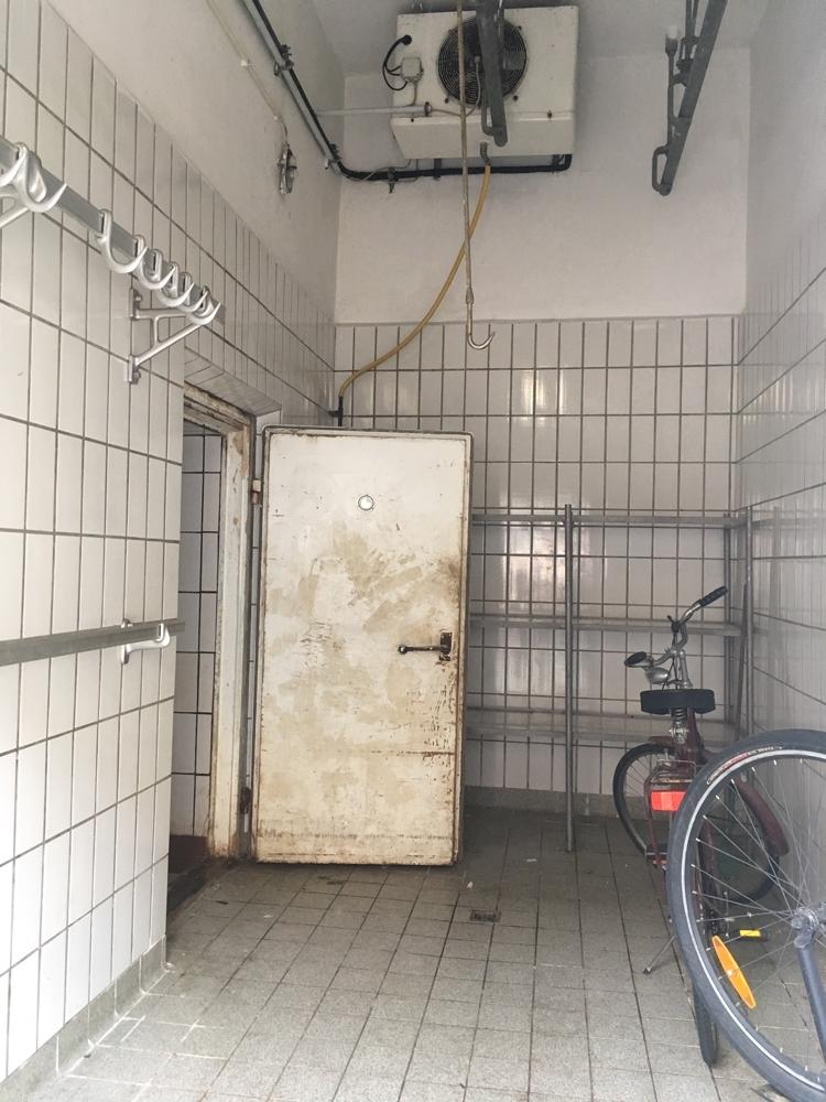 Eingang Kühlhaus