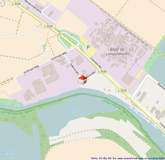 Lageplan Lampertheim