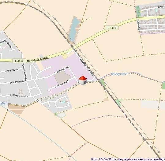 Lageplan Hofheim