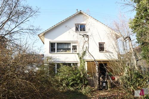 Haus von der Gartenansicht
