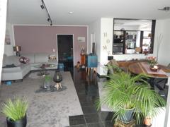 Blick zur Küche und Flur