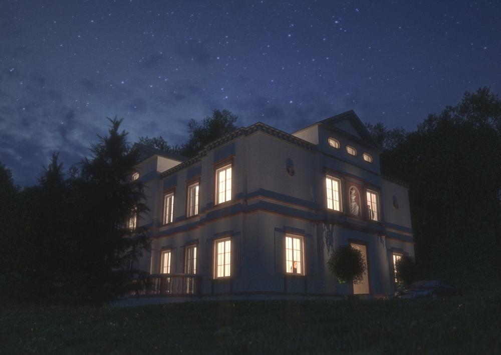 Nacht-Visualisierung