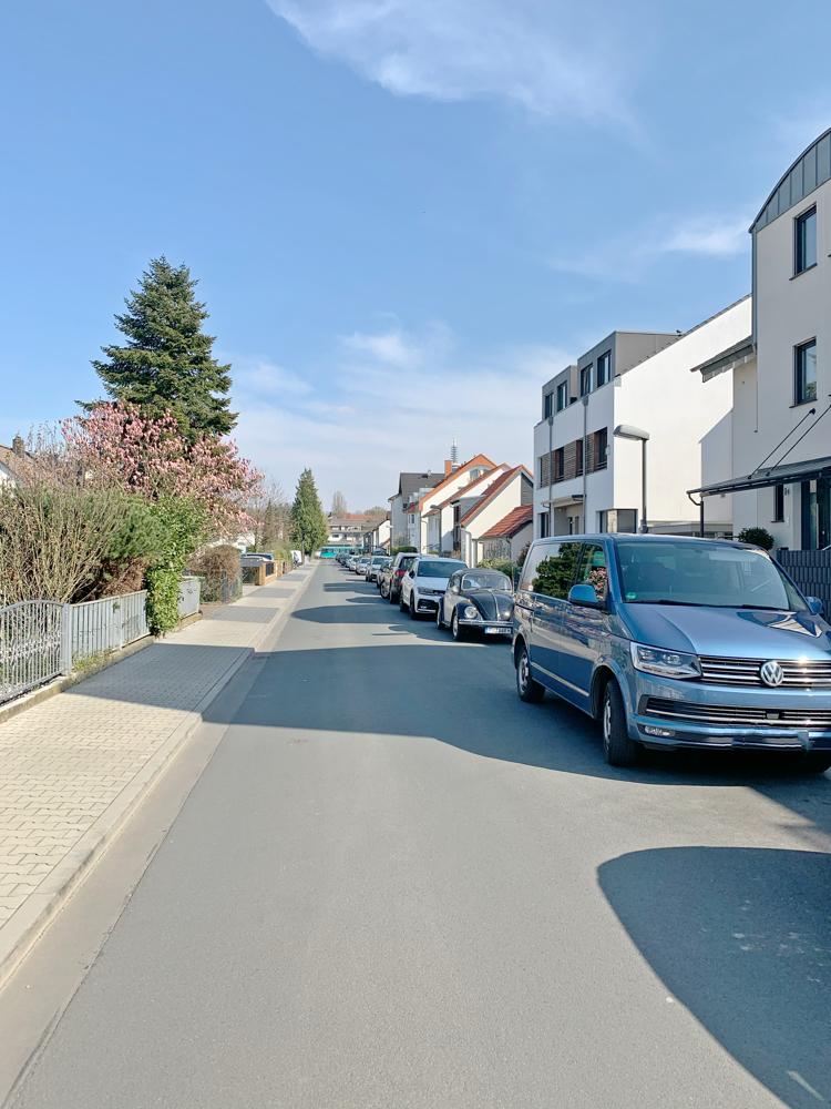 Blick auf der Straße