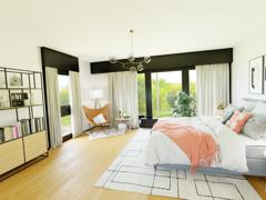 Visualisierung Schlafzimmer (aus Diskretion)