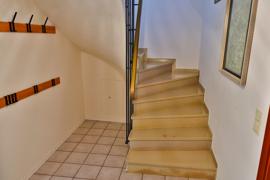 Treppe zum Hobbyraum
