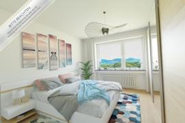 Visualisierung Schlafzimmer Hintergrund (WZ)