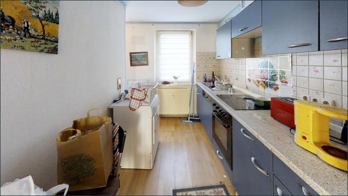 vermietete Wohnung im EG, Küche
