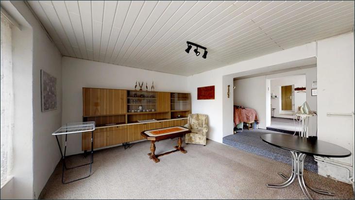 Zweiter Hausteil: Wohnraum