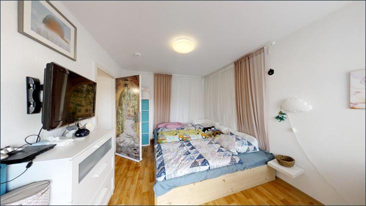 Schlafzimmer (Wohnung 1.OG)