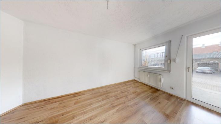 Schlafzimmer mit Terrassenzugang (Wohnung EG)