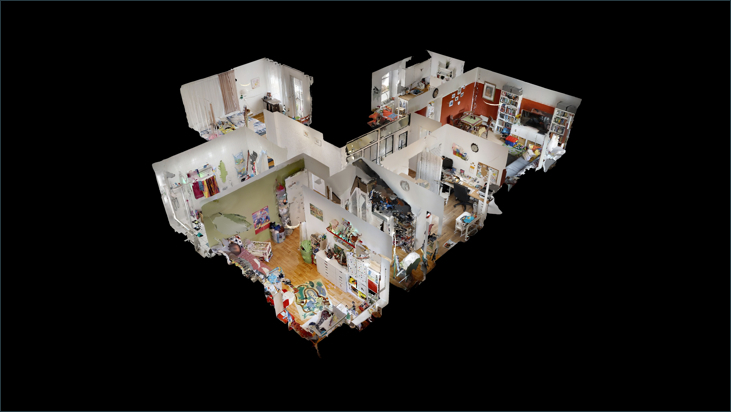 3D Modell (Wohnung 1.OG)