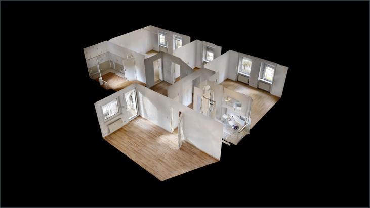 3D Modell (Wohnung EG)