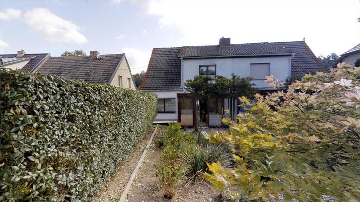 Garten - Blick zur Terrasse