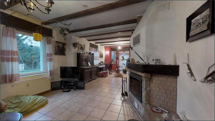Wochnzimmer mit Kamin