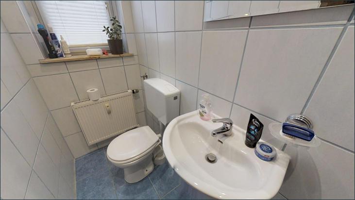 WC im EG