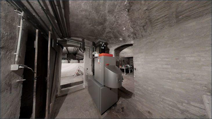 Heizung im Keller