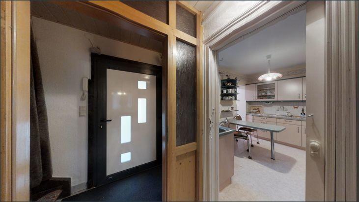 Eingangsbereich im Haus