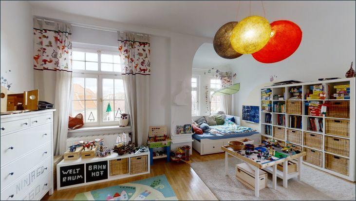 Blick ins erste Kinderzimmer