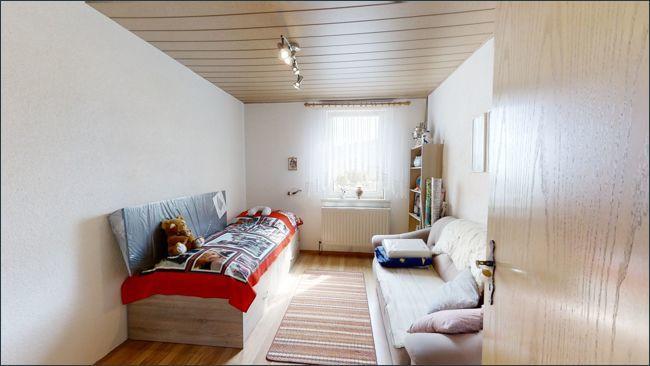 Raum hinter dem Wohnzimmer