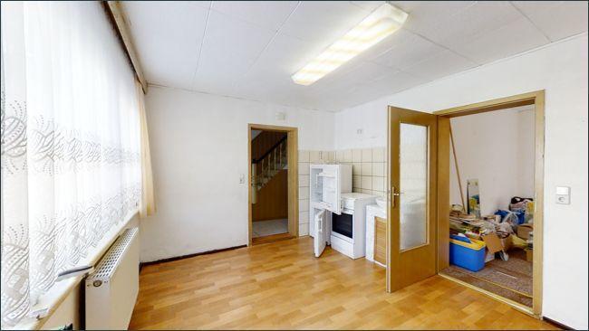 EG: Wohnküche in der Einliegerwohnung